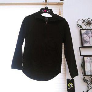 Boys black champion hoodie